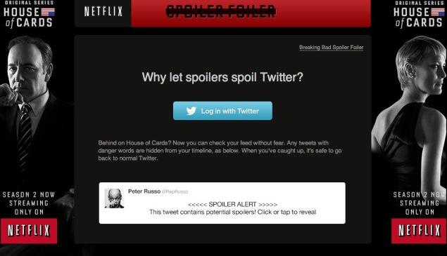 SpoilerFoiler.com