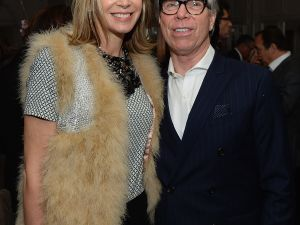 Tommy Hilfiger and Dee Ocleppo. (Photo via Getty Images)