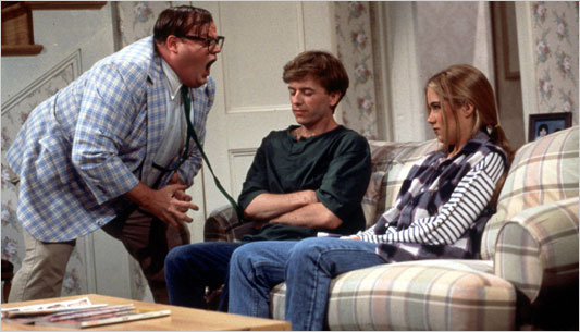 A Man, A Van, A River, Chris Farley: Lost Footage Surfaces of Early Matt Foley Sketch (Video)