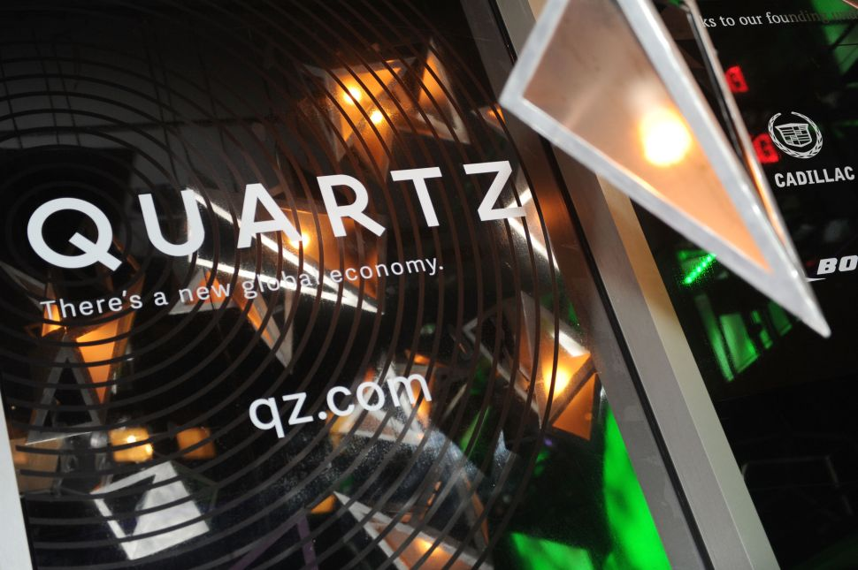 Quartz Hires Tech Editor and Ideas Reporter