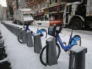 Citi Bikes. (Photo: Getty)