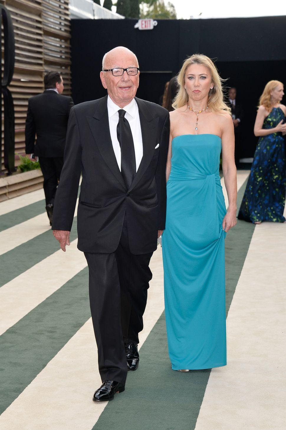 L.A. Ladies Love Rupert Murdoch