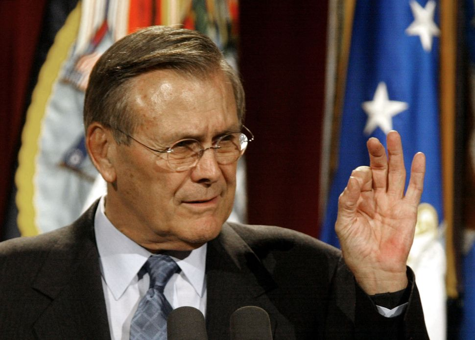Secretary of Indefense: Rumsfeld a Slippery Subject in New Documentary