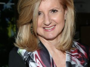 Arianna Huffington. (Photo via Getty Images)