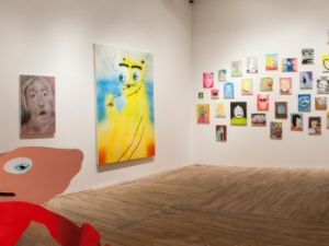Installation view. (Courtesy Postmasters)