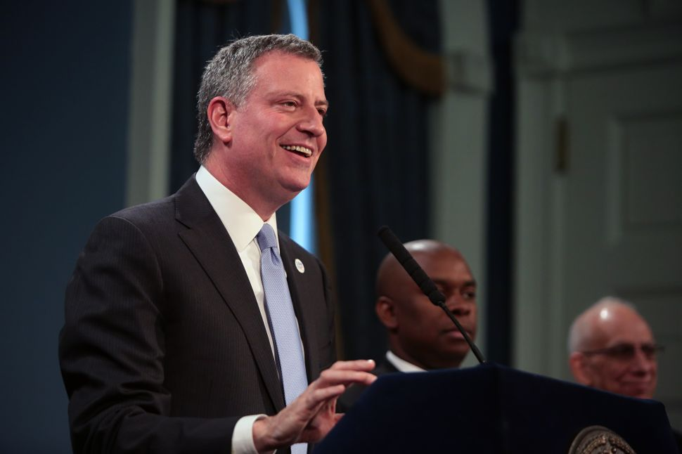 De Blasio Delays Release of Affordable Housing Plan to Push Union Deal
