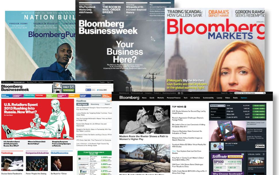 Bloomberg Media Ramps Up Digital With New Hires