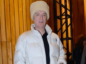 David Byrne, not on the Internet. (<em>Photo via Getty Images</em>)