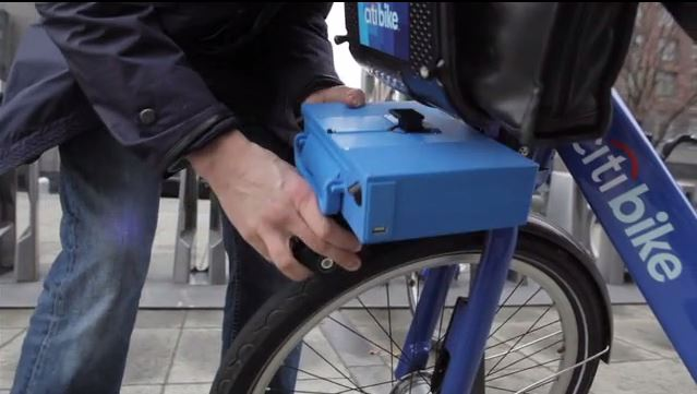 It's Electric! Portable Motors Proposed for Citi Bikes