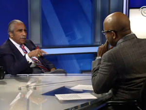 Charlie Rangel on Inside City Hall. (screengrab: NY1)