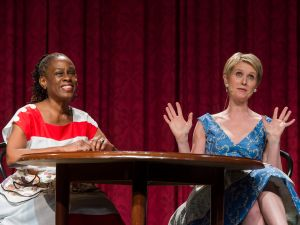 Chirlane McCray and Cynthia Nixon at last weekend's Inner Circle Show. (Photo: Rob Bennett/NYC Mayor's Office)