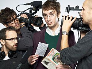 Choose Your Own Documentary's Sam Smaïl, Fernando Gutierrez De Jesus, Nathan Penlington, Nick Watson, from left.