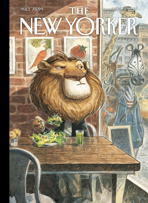 Most New Yorker Artists Eat Meat