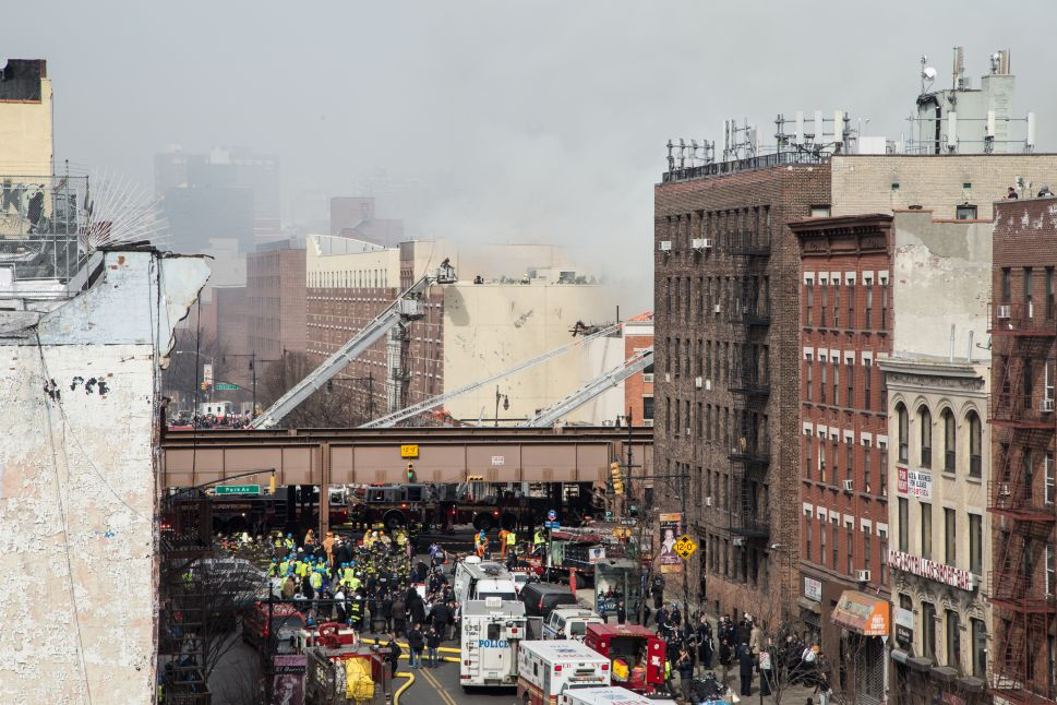Photos From East Harlem Building Explosion [Updated]