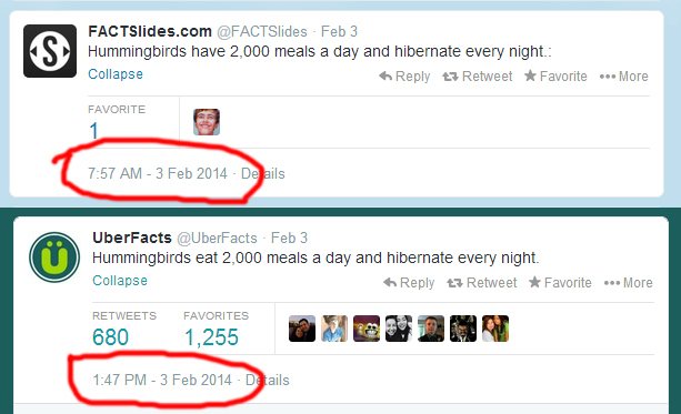 @Uberfacts Creator Defends Stealing Tweets, Says 'Facts Are Not Creative Works'