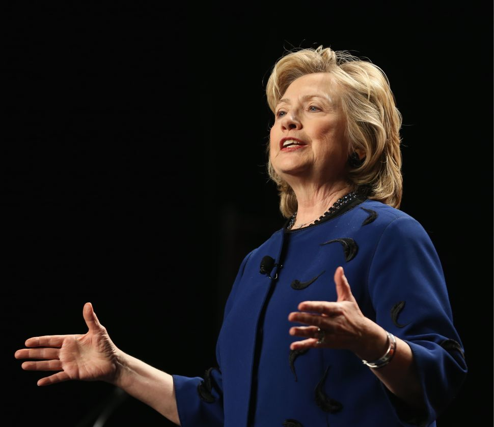 Hillary Clinton Gives Nuanced Foreign Policy Speech to American Jewish Congress
