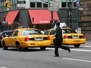 To be fair, this guy is practically begging the NYPD to mess with him. (Photo: Fling93/Flickr)