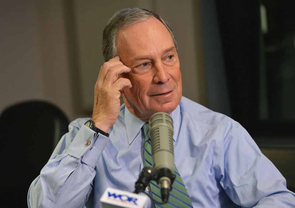 Bloomberg Holds His Fire on de Blasio but Blasts His 'Disaster' Priorities