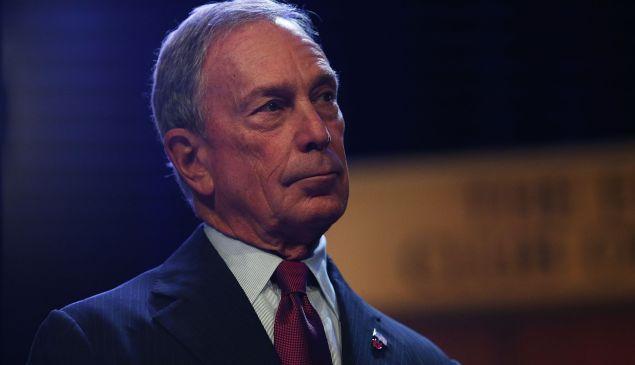 Michael Bloomberg. (Photo: Spencer Platt/Getty)