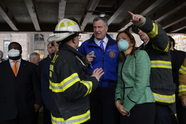 Mark-Viverito Says District Office Doubling as Command Post After Explosion