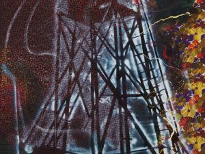 'Watchtower' (1984) by Polke. (Estate of Sigmar Polke/ Artists Rights Society (ARS), New York / VG Bild-Kunst, Bonn)