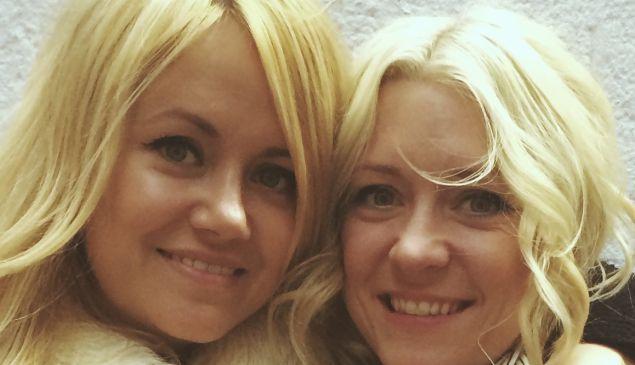 Amanda and Jessica Needham, the sister duo behind the characters of Portlandia (Photo by Fernanda DeSouza/Observer).
