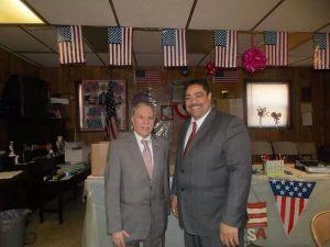 Assemblyman Bill Colton with Rev. Erick Salgado. (Photo: Twitter)