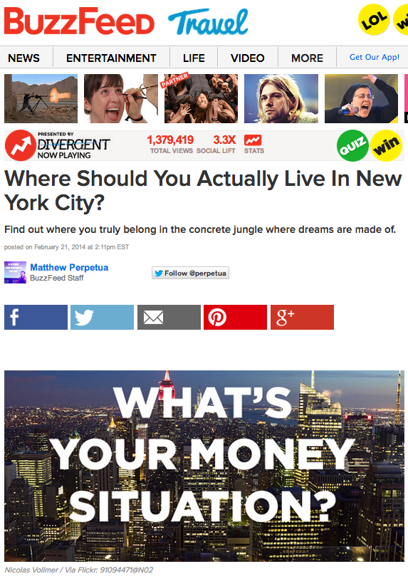 Media Mix: BuzzFeed Doesn't Need Clickbait To Get People To Share