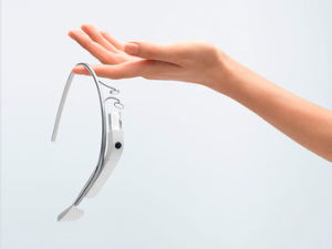 Here's a Google Glass-shaped piece of plastic. (Shapeways)