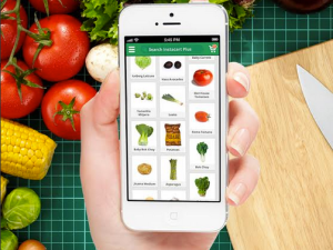 The app is really aesthetically pleasing. (Instacart)