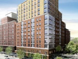 An affordable housing development in the Bronx.