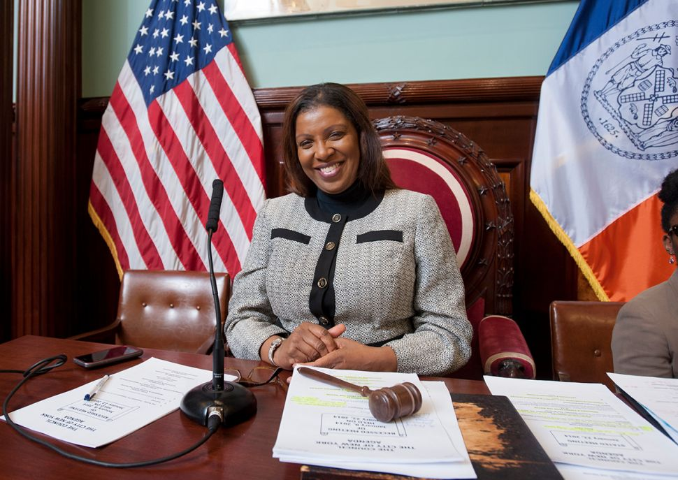 Tish James Wants the Sleaze Off the Subway