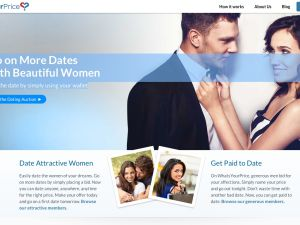 Get paid to date! What could go wrong? (WhatsYourPrice.com)