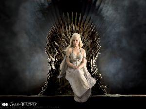 Catch the throne, Khaleesi! (HBO)