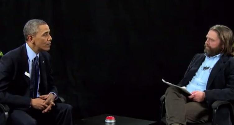 President Obama Smacks Down Zach Galifianakis on 'Between Two Ferns' (Video)