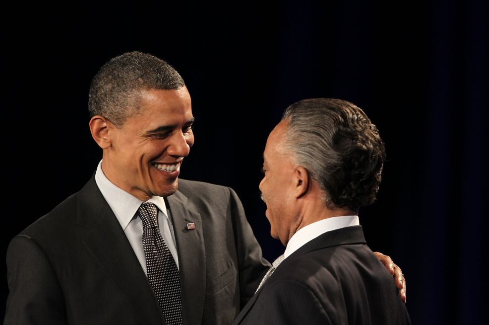Obama Pays Tribute to Sharpton in Wake of FBI Controversy
