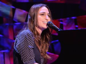 Sara Bareilles performed her heart out!