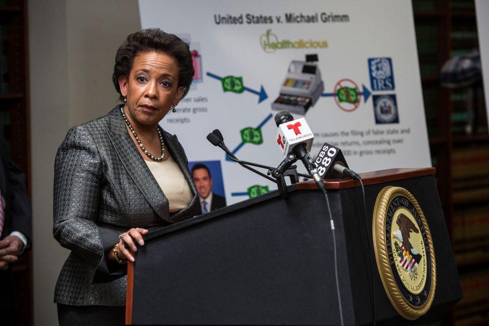 Brooklyn DA Ken Thompson: Loretta Lynch Would Be 'Simply Superb' Attorney General