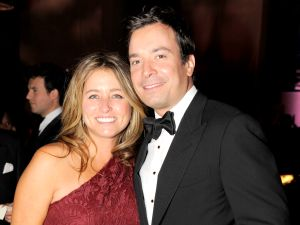 Jimmy Fallon and Ms. Juvonen—expanding their Gramercy Park empire. (Patrick McMullan)