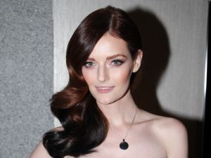 "Event host and star of Oxygen's ""The Face"" Lydia Hearst ©Patrick McMullan"