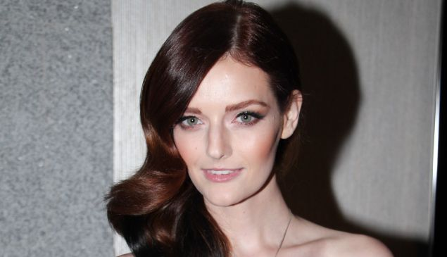 """Event host and star of Oxygen's """"The Face"""" Lydia Hearst ©Patrick McMullan"""