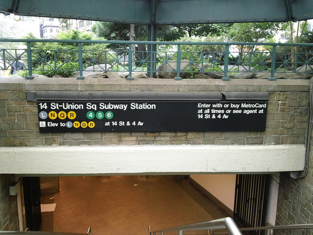 Union Square Subway Station Is Ground Zero for Upskirt Photography