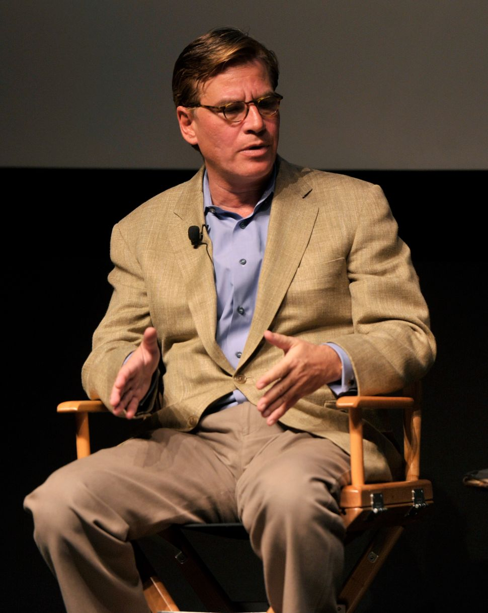 Aaron Sorkin: Hollywood Lacks Female Heroes Because Lady Scripts Aren't Good Enough