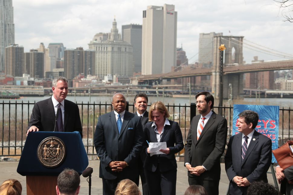 New York Pols Throw Shade at New Jersey During East River Fireworks Announcement