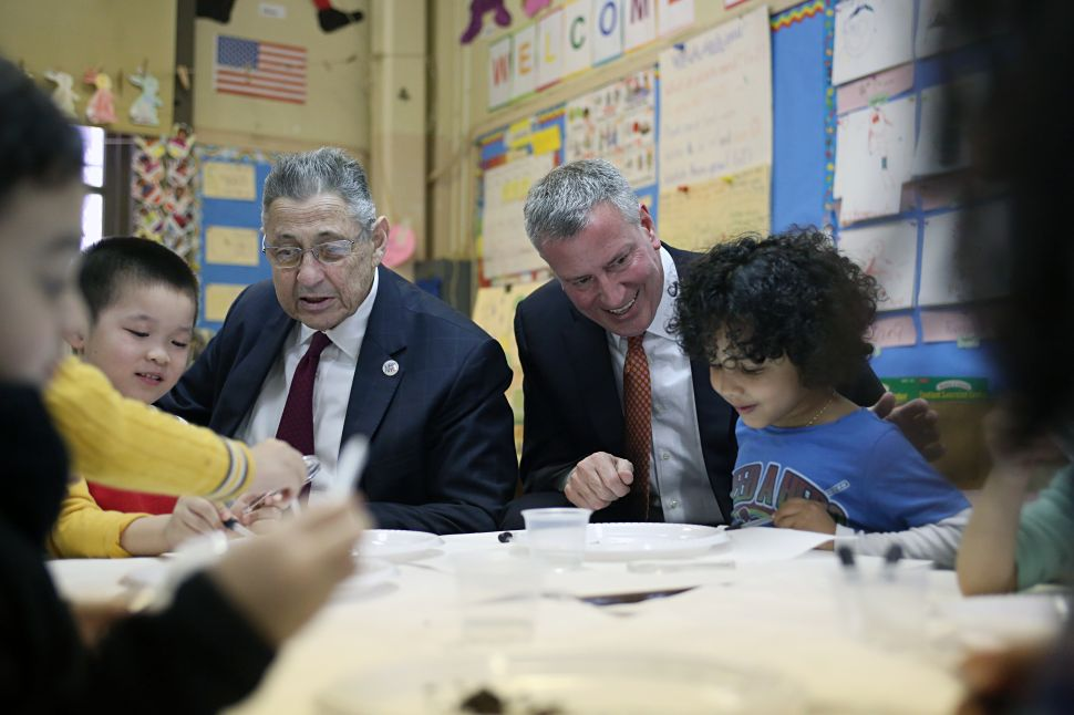 Bill de Blasio: 'I Get to Learn About Worms, My Job Is Very Interesting'