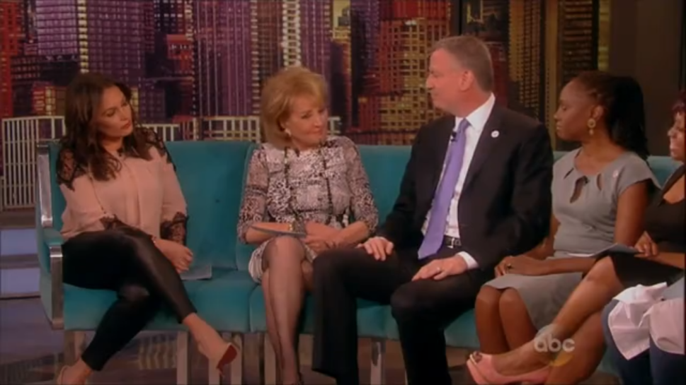 Bill de Blasio Proclaims Official 'Barbara Walters Day' for NYC