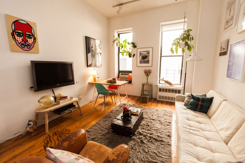 Craig Redman Finds Comfort in the 'Eclectic and Weird' Look of His Village Apartment