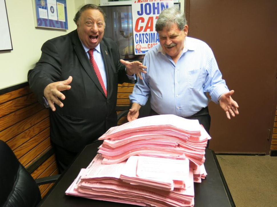 Aide to John Catsimatidis Doing Polling for 2017 NYC Mayoral Race