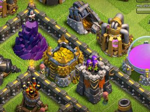 A still from Clash of the Clans. (Photo via Flickr)