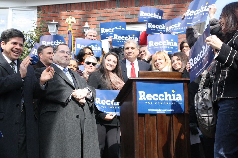 Recchia Reacts to Pending Grimm Indictment